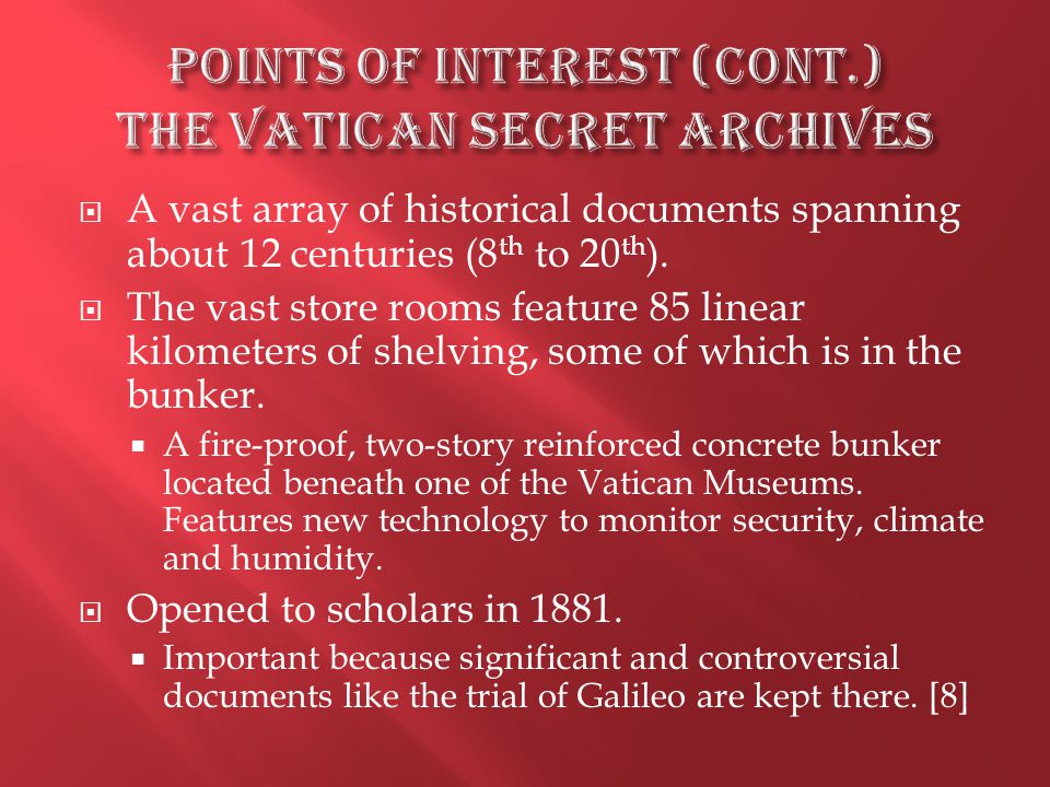  A vast array of historical documents spanning about 12 centuries (8 th to 20 th ).