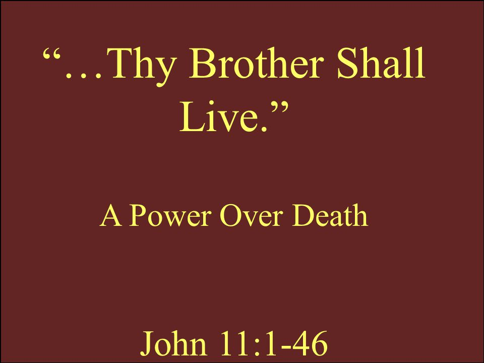 John 11:11 Our friend Lazarus sleepeth; but I go, that I may awake him out of sleep.