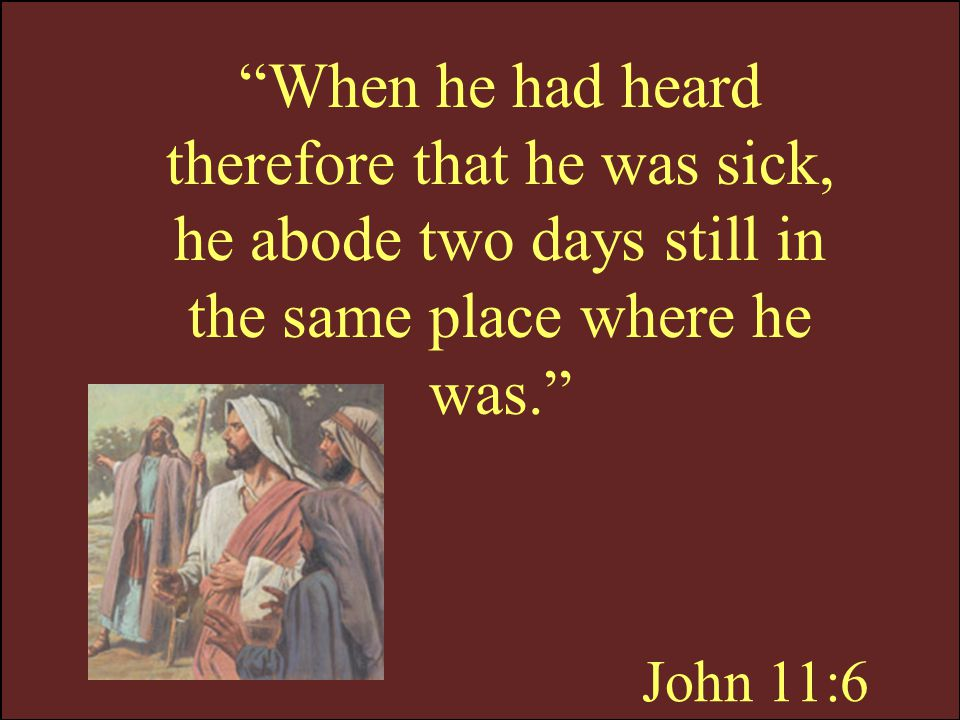 John 11:7 …let us go to Judaea
