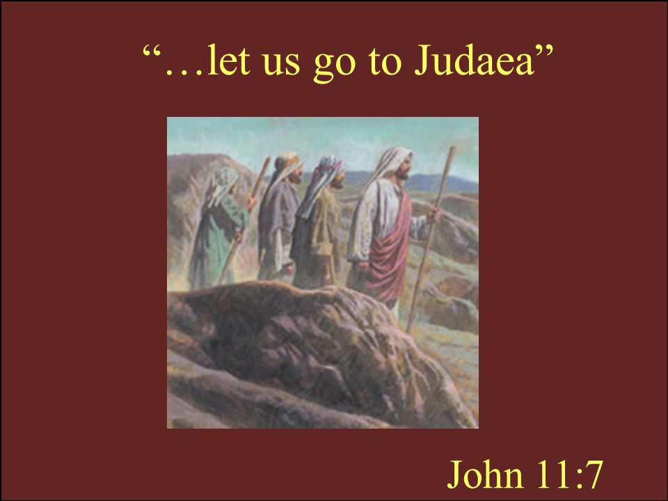 John 11:8 …the Jews of late sought to stone thee…