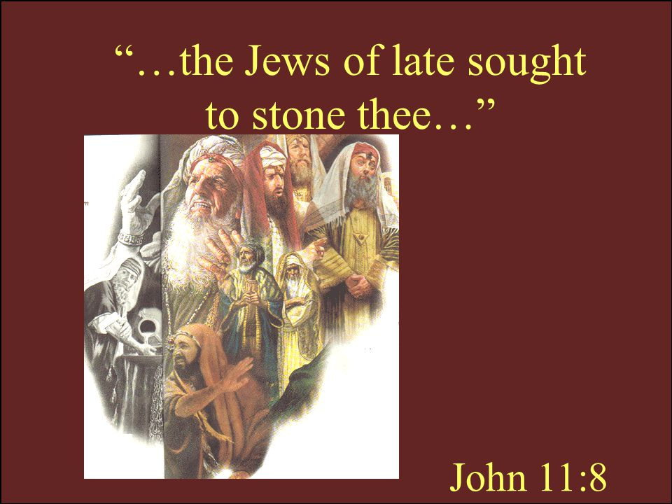 John 11:9 …If any man walk in the day, he stumbleth not, because he seeth the light of this world.