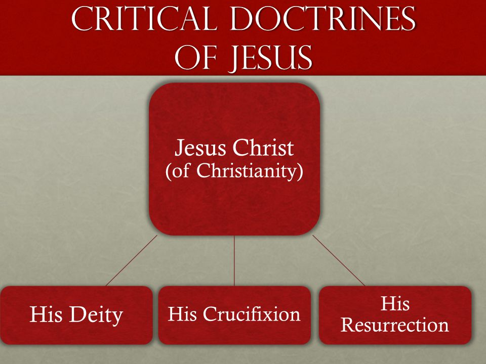 Historical case for jesus CRITICAL DOCTRINE BIBLEQURAN Historical Evidence DEITY OF JESUS The Bible claims clearly that Jesus Christ is God.