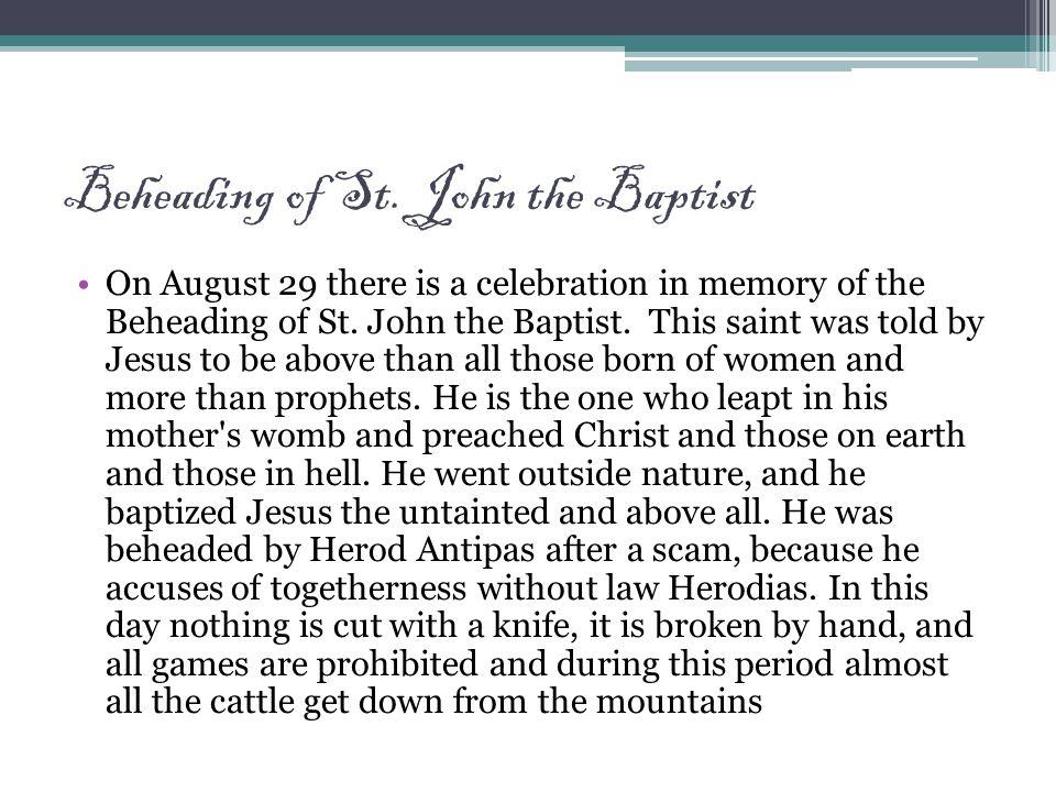 Beheading of St.