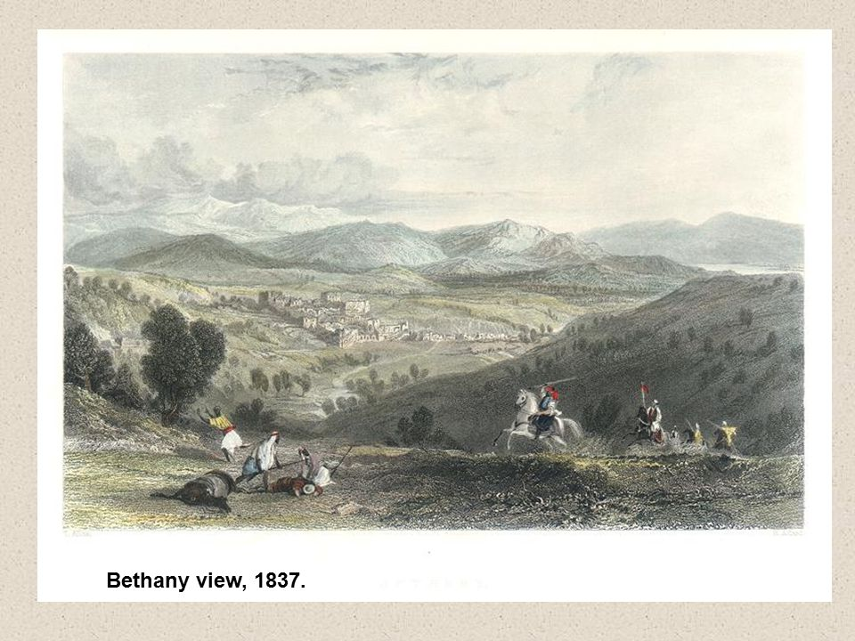 Bethany view, 1837.