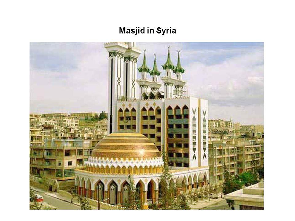 Masjid in Syria