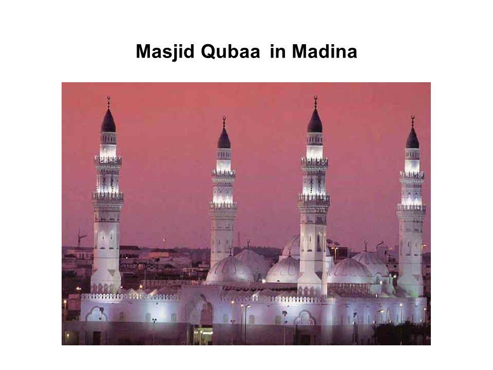 Masjid Qubaa in Madina