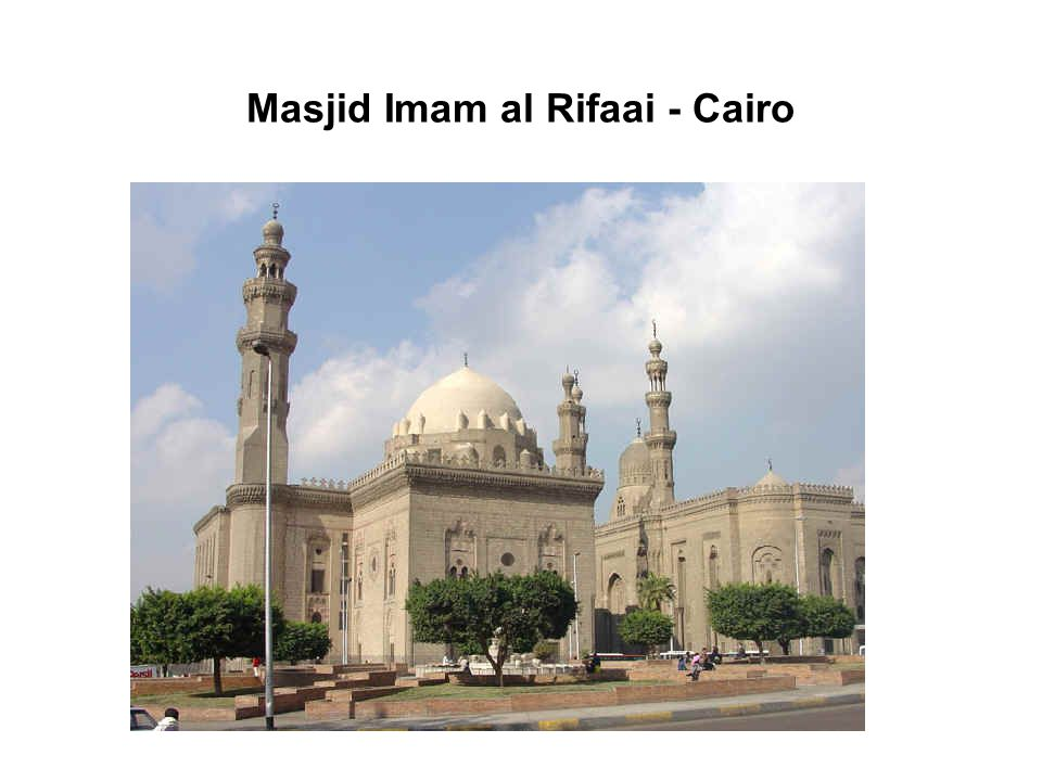Masjid Imam al Rifaai - Cairo