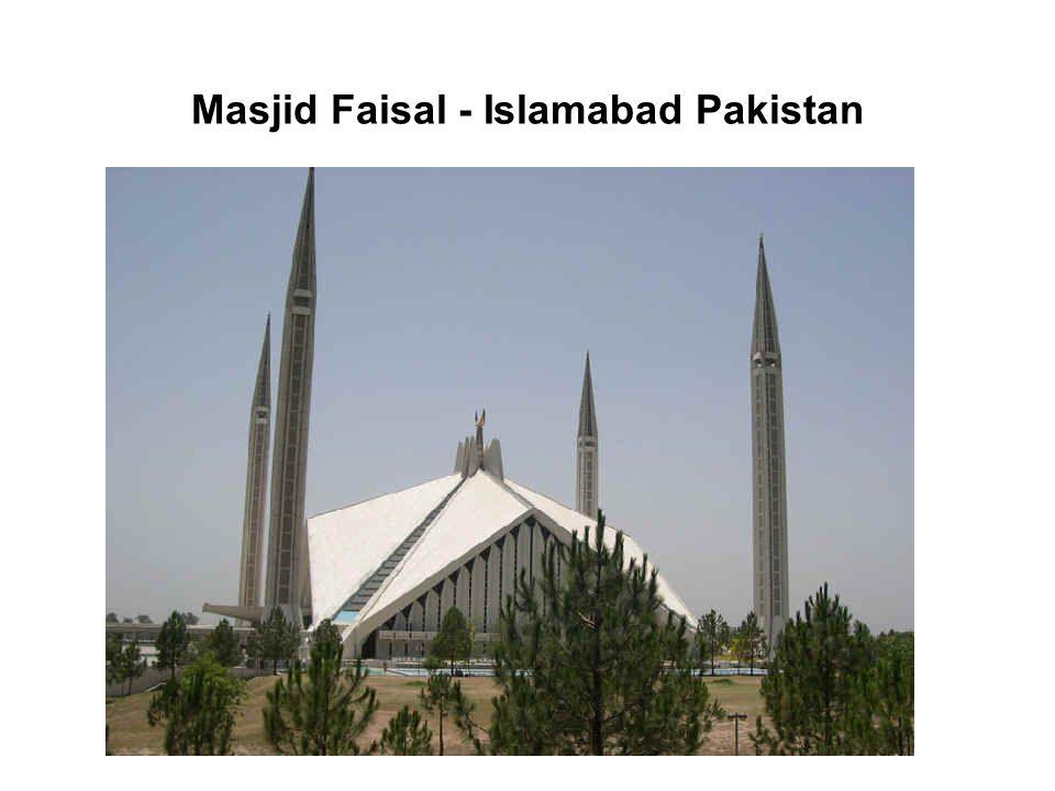 Masjid Faisal - Islamabad Pakistan