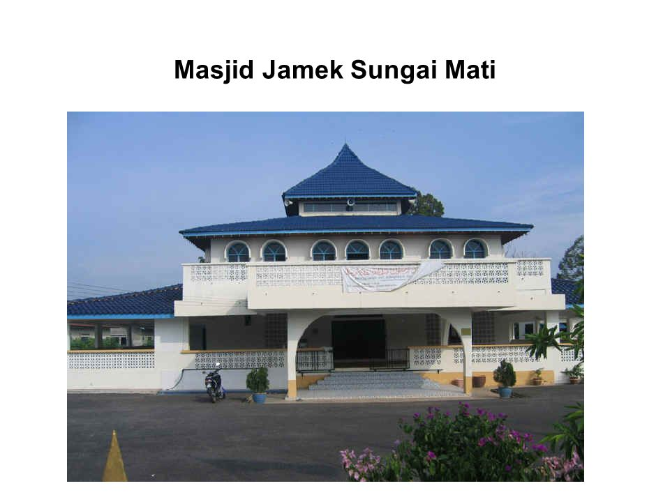 Masjid Jamek Sungai Mati