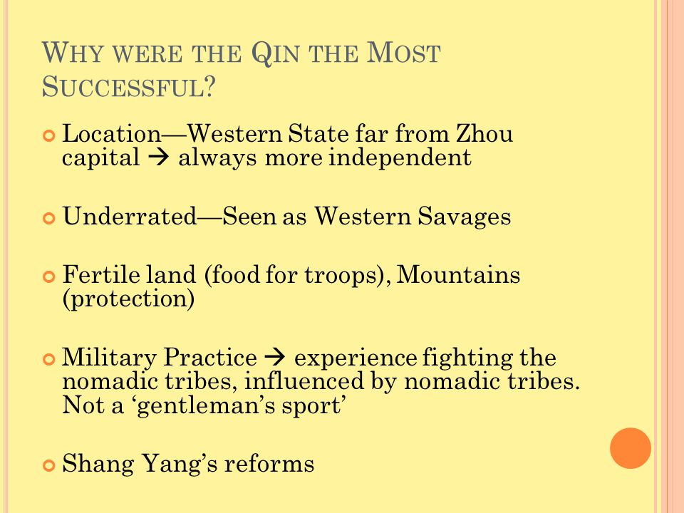 W HO WAS S HANG Y ANG AND W HAT WERE HIS REFORMS .
