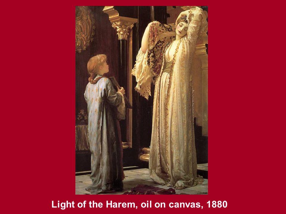 Light of the Harem, oil on canvas, 1880