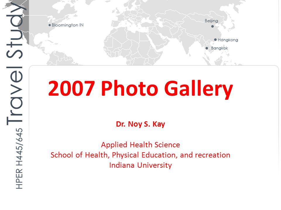 6/20/2007 China Preventive Medicine Association, Beijing