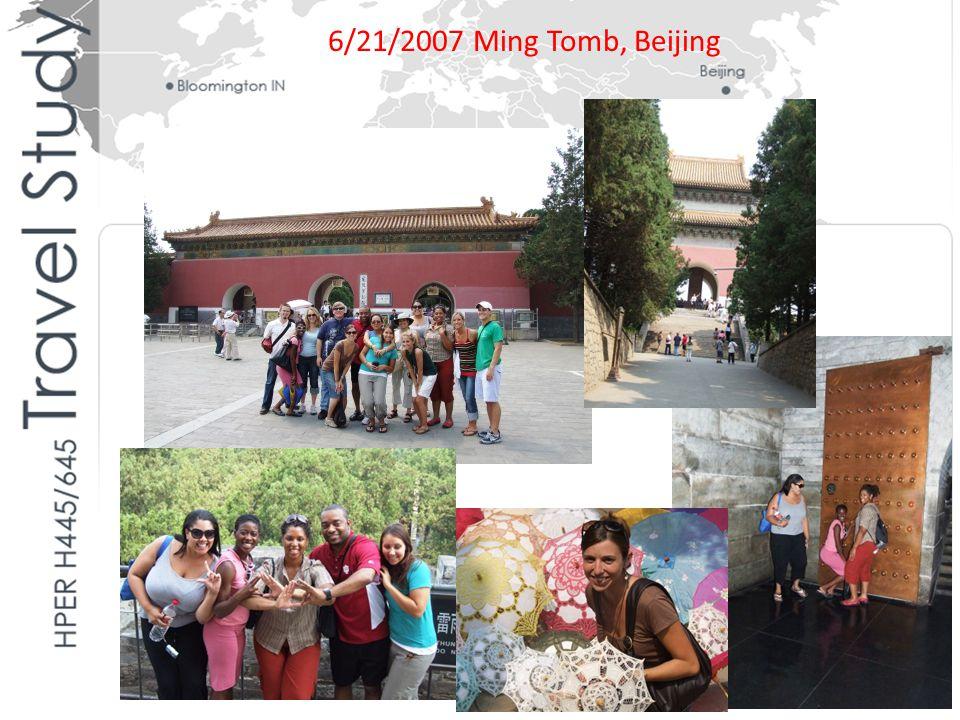6/21/2007 Ming Tomb, Beijing