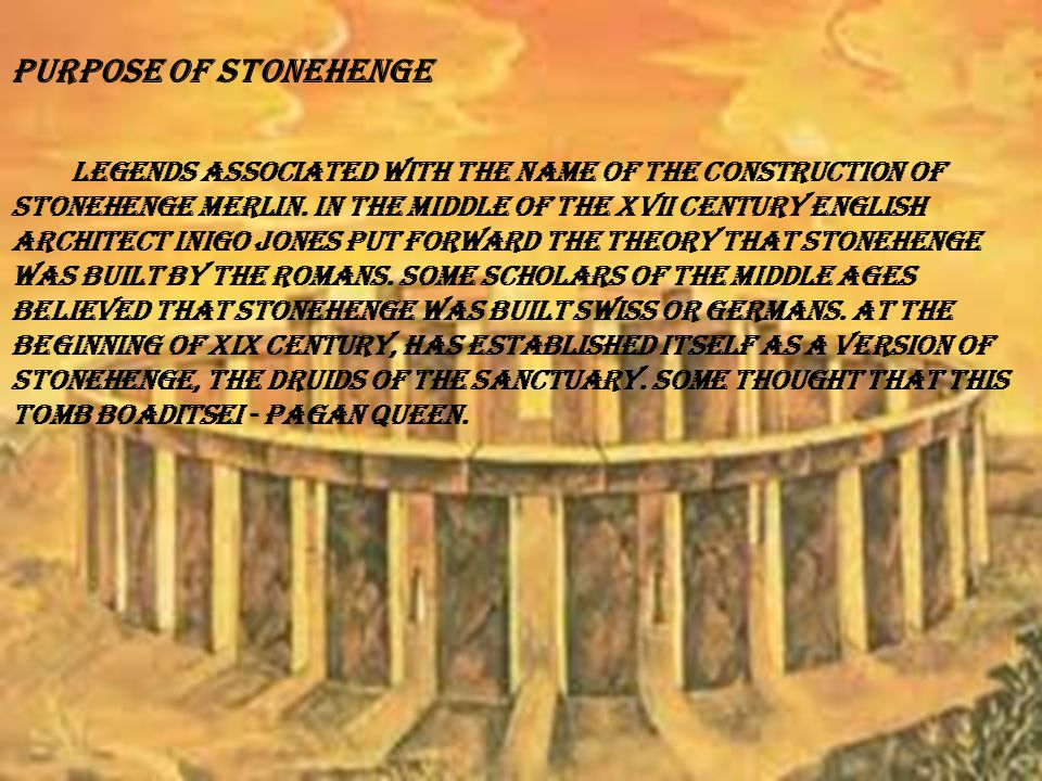Even the authors of XVIII century noticed that the position of the stones can be associated with astronomical phenomena.