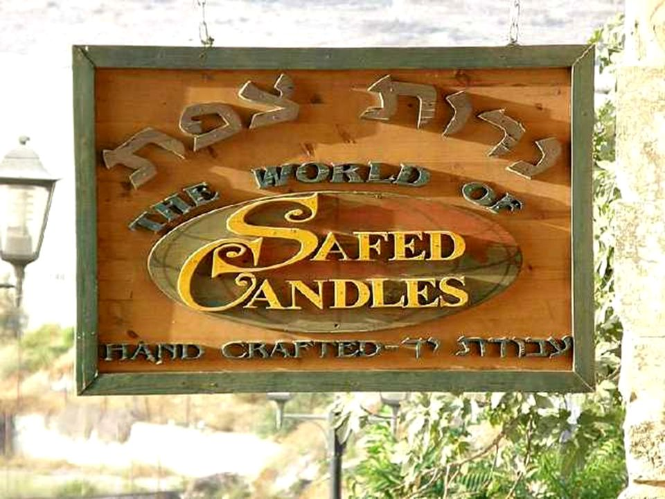 Legend has it that Safed was founded by a son of Noah after the Great Flood.