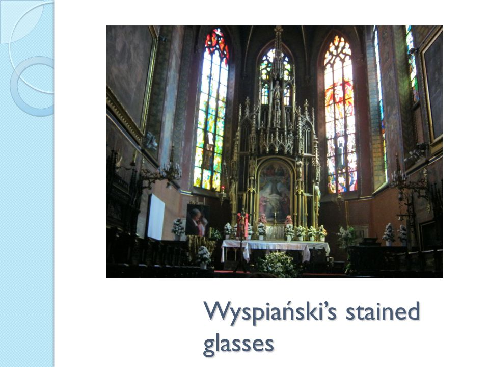 Wyspiański's stained glasses