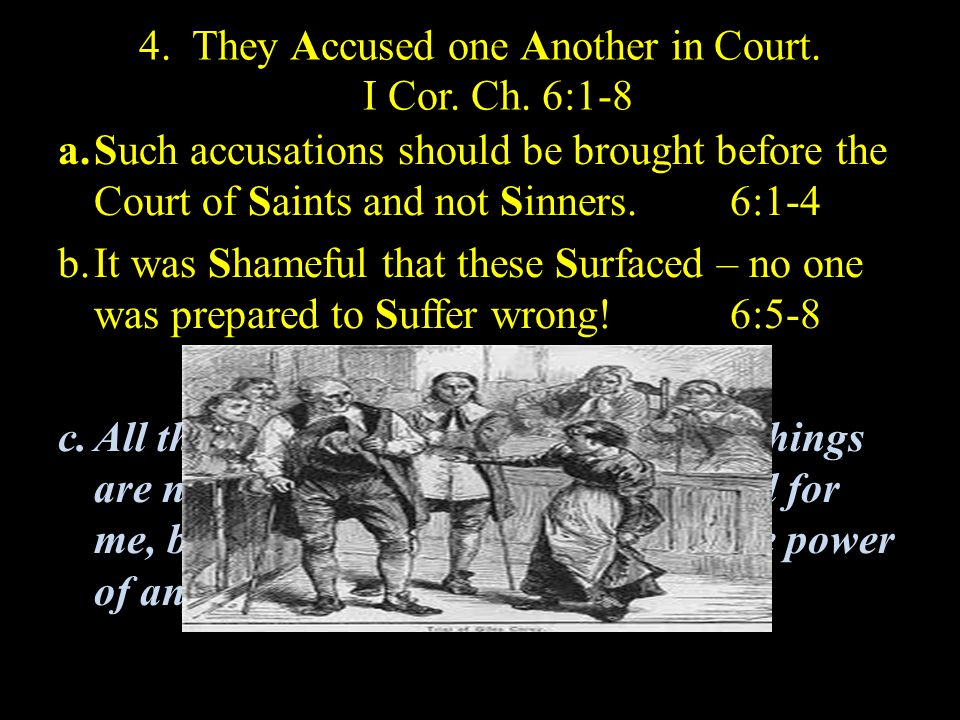5.They Abused their own Bodies. I Cor. Ch. 6:9-20 a.