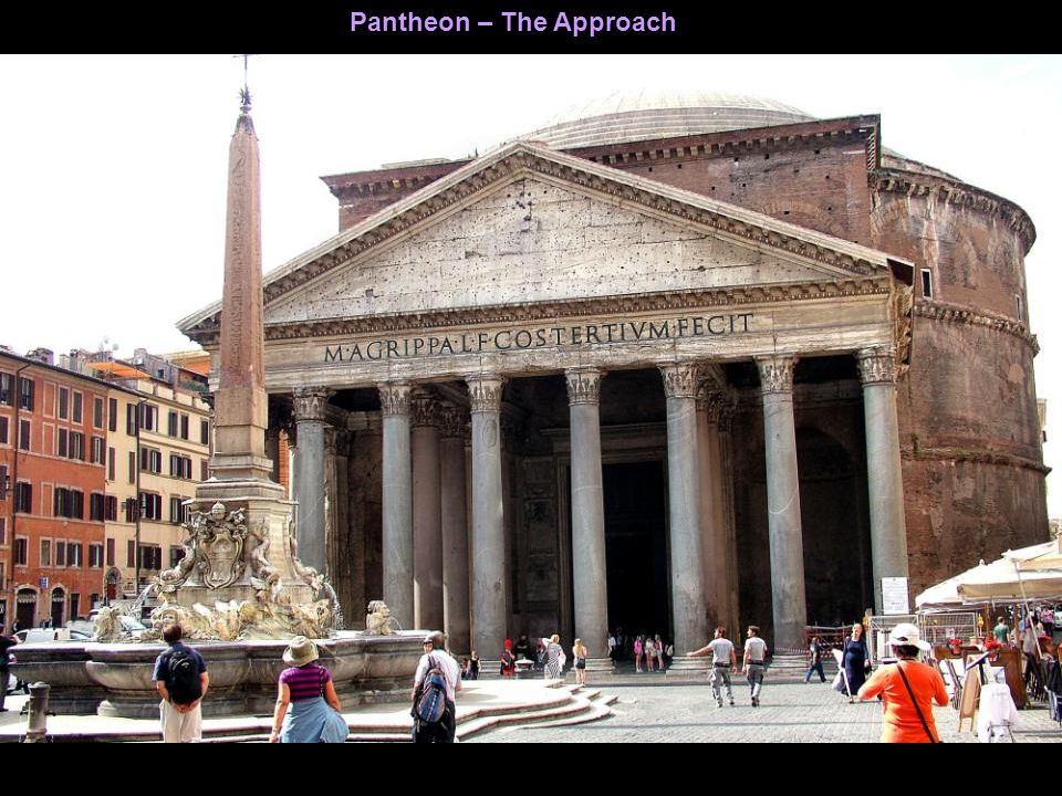 Pantheon – A milestone in the history of Architecture.