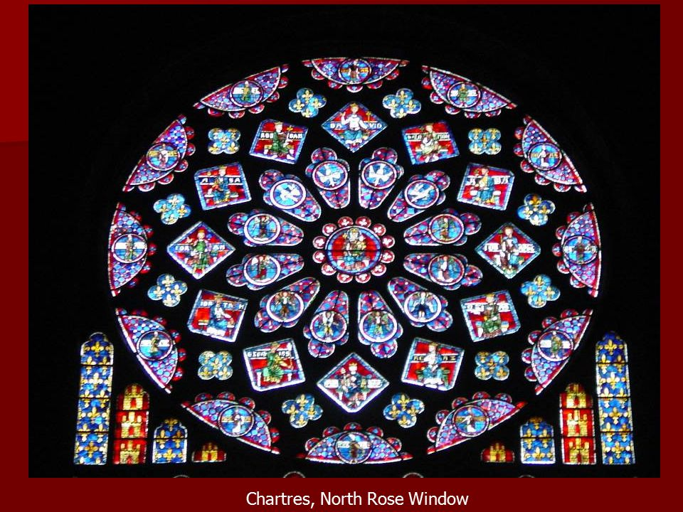 Chartres, North Rose Window