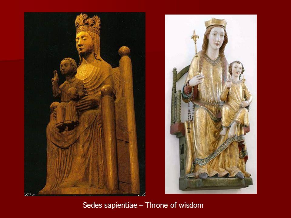 Sedes sapientiae – Throne of wisdom