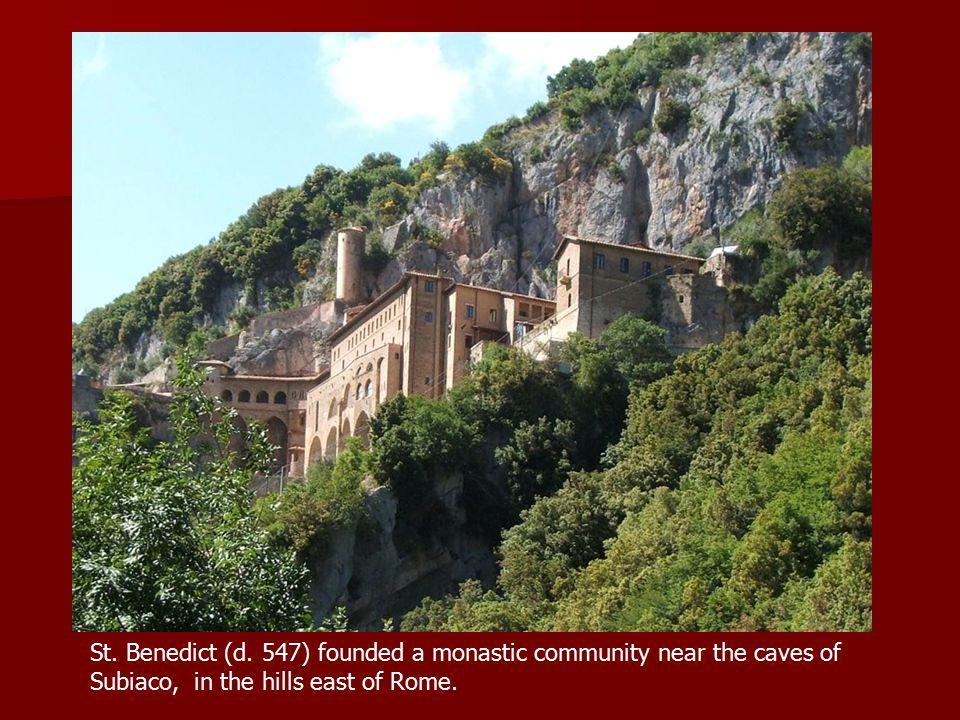 St. Benedict (d.