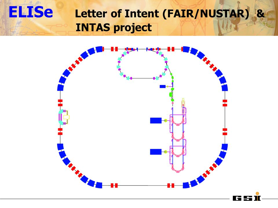 ELISe Letter of Intent (FAIR/NUSTAR) & INTAS project