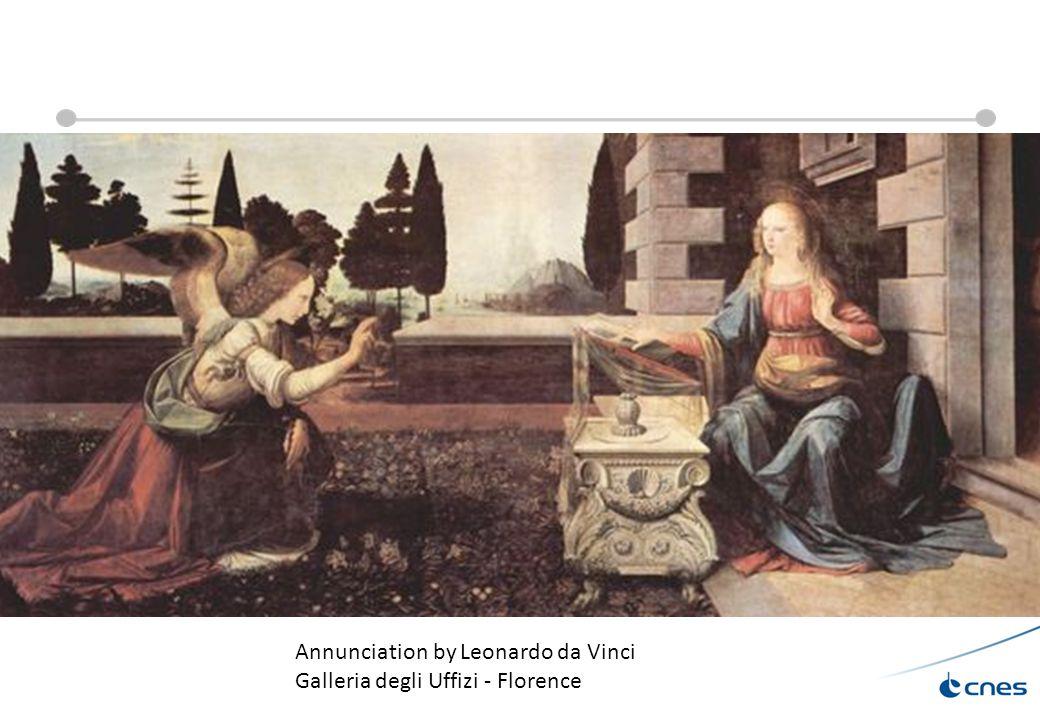 25/09/13 Réunion groupe astro 29 Annunciation by Leonardo da Vinci Galleria degli Uffizi - Florence