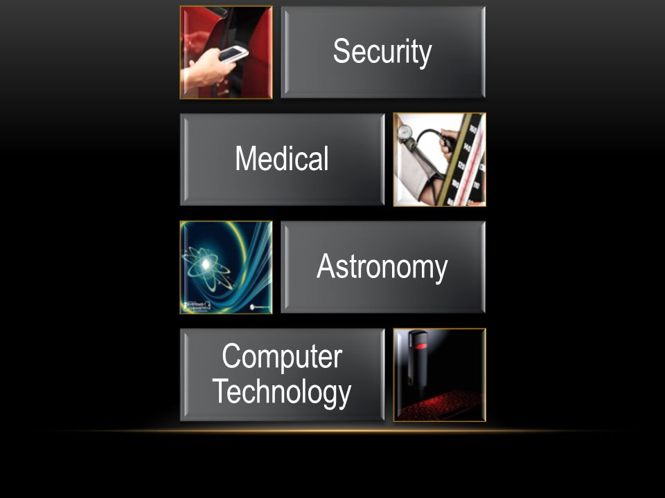 Security Medical Astronomy Computer Technology