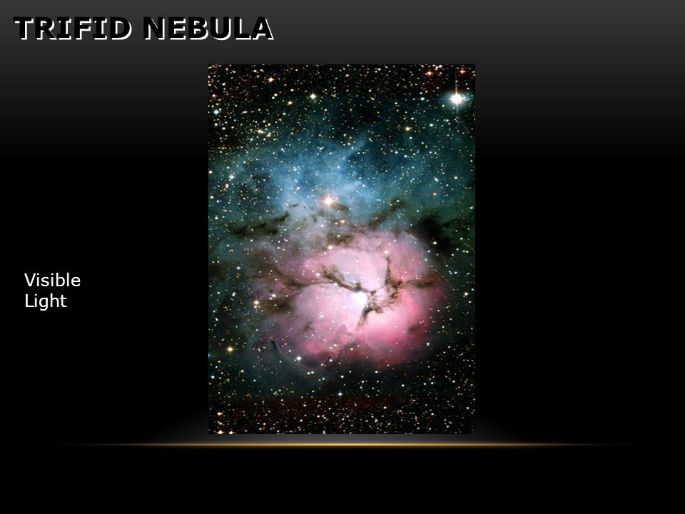 TRIFID NEBULA Visible Light