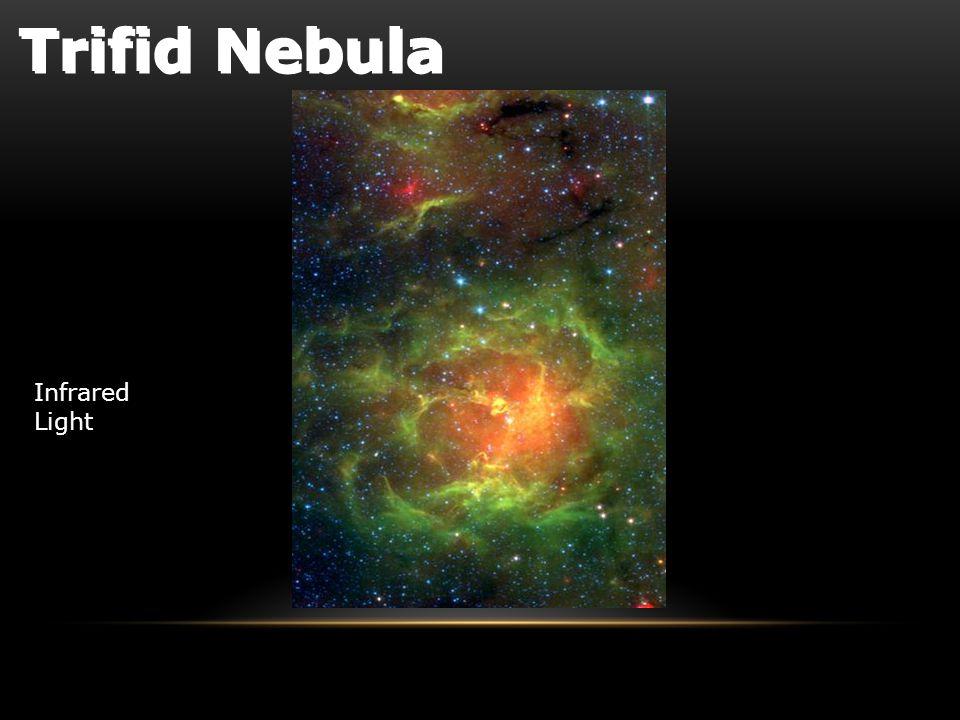 Infrared Light Trifid Nebula