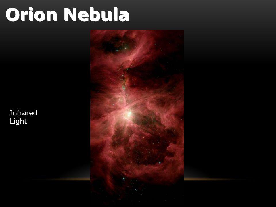Infrared Light Orion Nebula