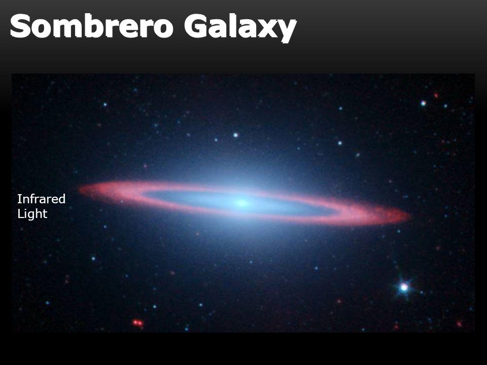 Infrared Light Sombrero Galaxy
