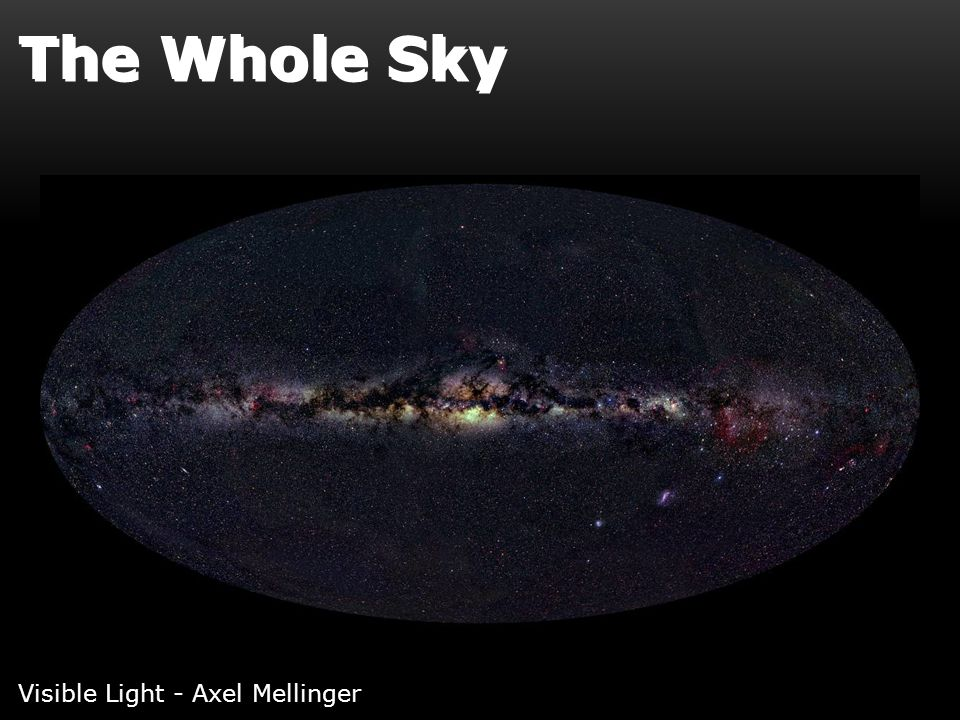 The Whole Sky Visible Light - Axel Mellinger