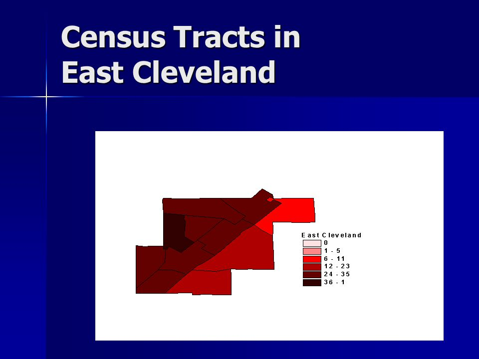 Census Tracts in East Cleveland