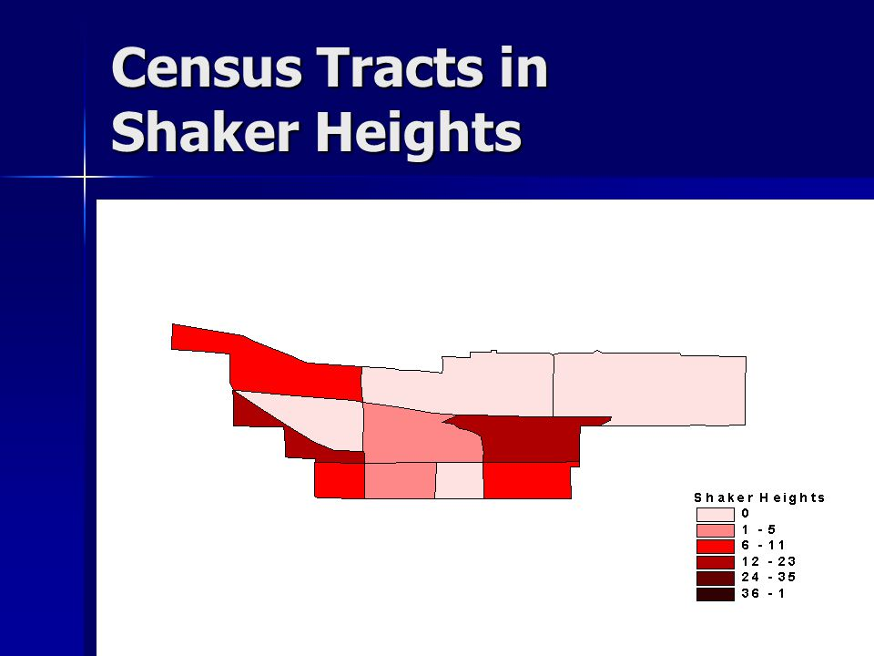 Census Tracts in Shaker Heights
