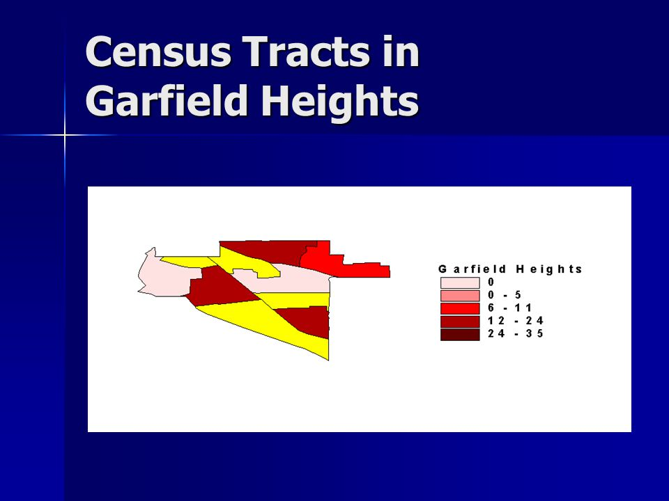 Census Tracts in Garfield Heights