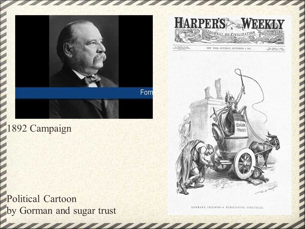 Cleveland s Domestic Policy Issues Grover Cleveland pushed for tariff reduction, however he was blocked by Congress.