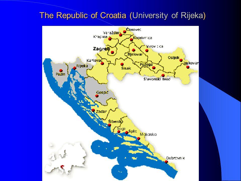 The Republic of Croatia (University of Rijeka)