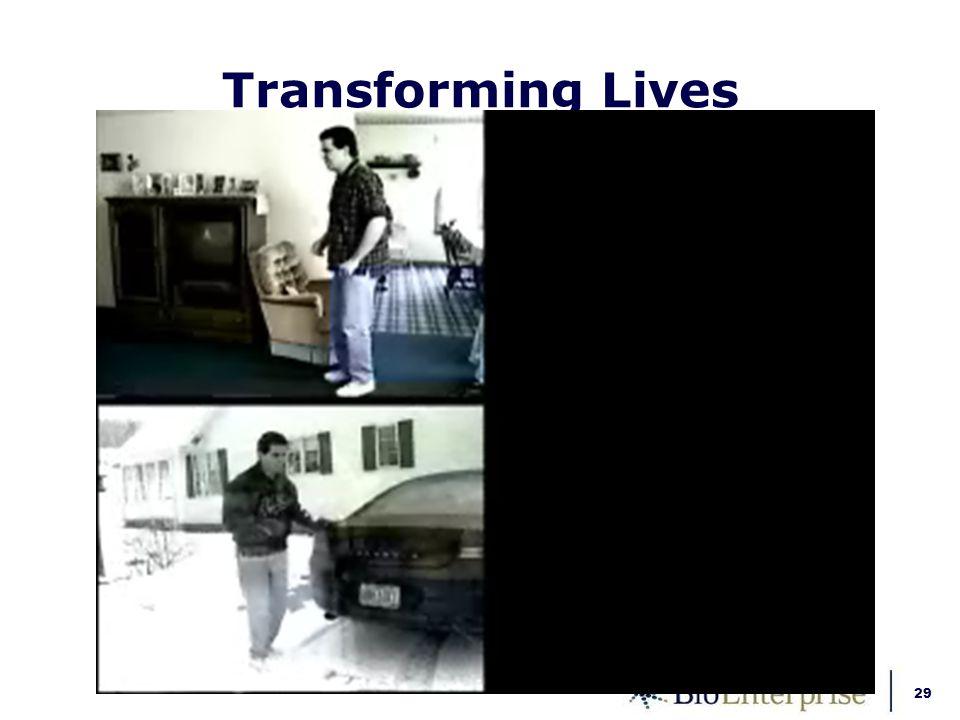 29 Transforming Lives