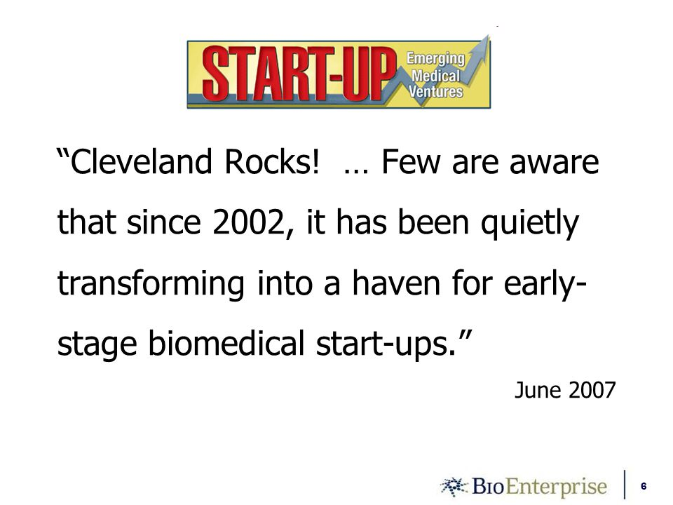 6 Cleveland Rocks.