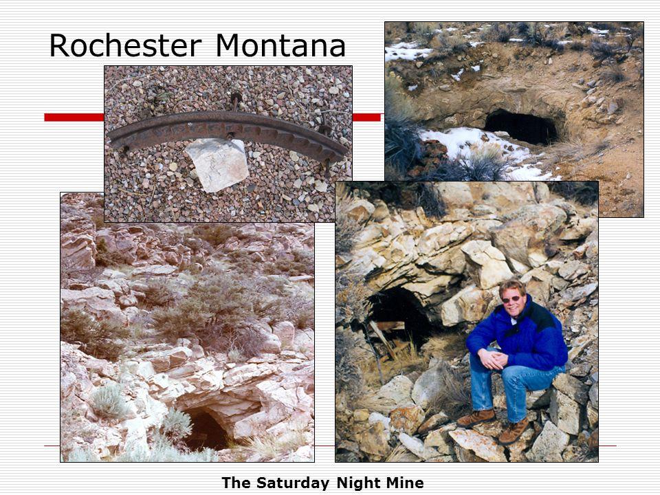The Saturday Night Mine