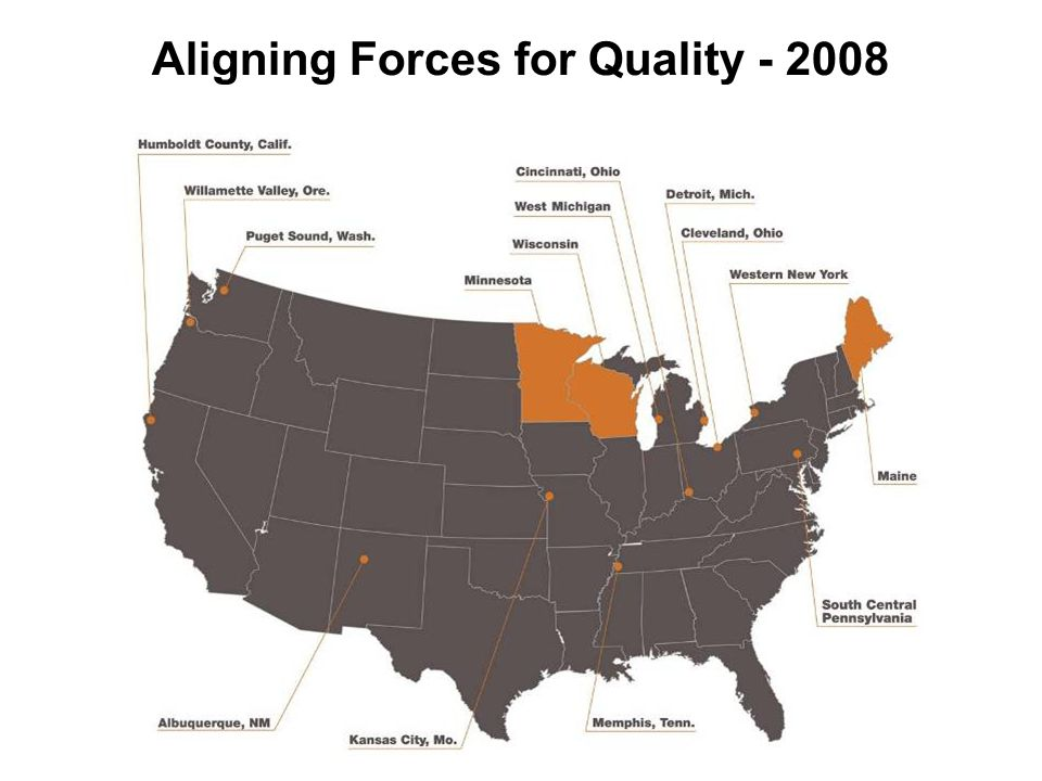 Aligning Forces for Quality - 2008