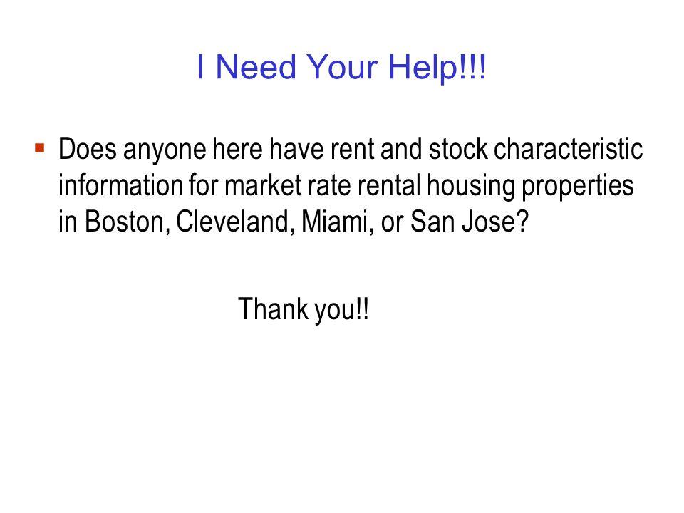 I Need Your Help!!.