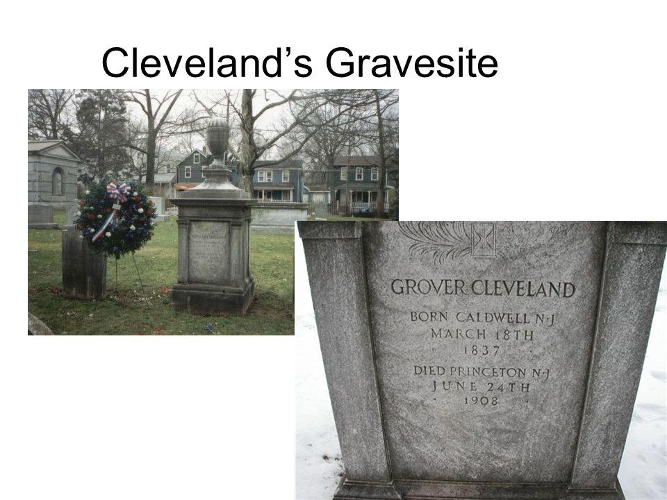 Cleveland's Gravesite