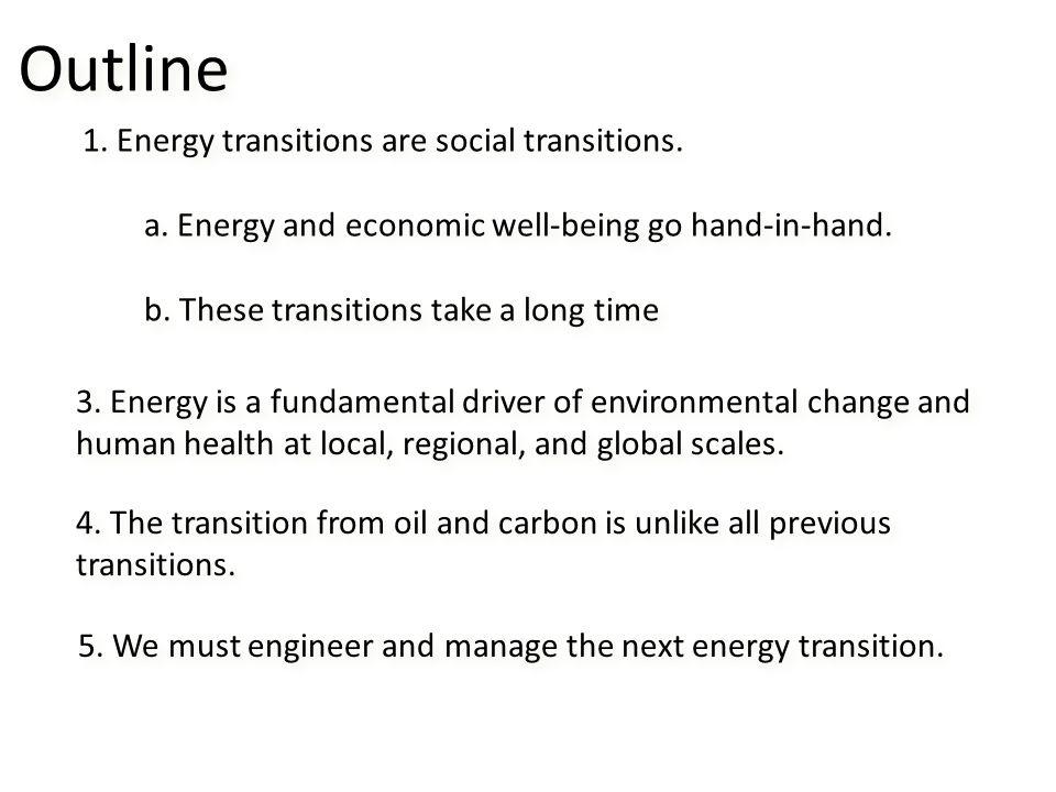 Energy & Economic Growth