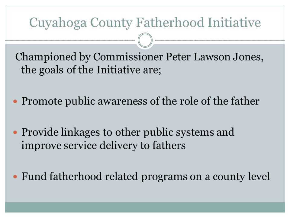 Local Fatherhood Resources The Healthy Fathering Collaborative was established by the Community Endeavors Foundation in 2001 as a network of public and private agencies, providing services to fathers and families.