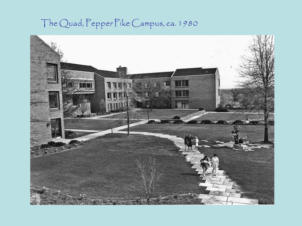 The Quad, Pepper Pike Campus, ca. 1980