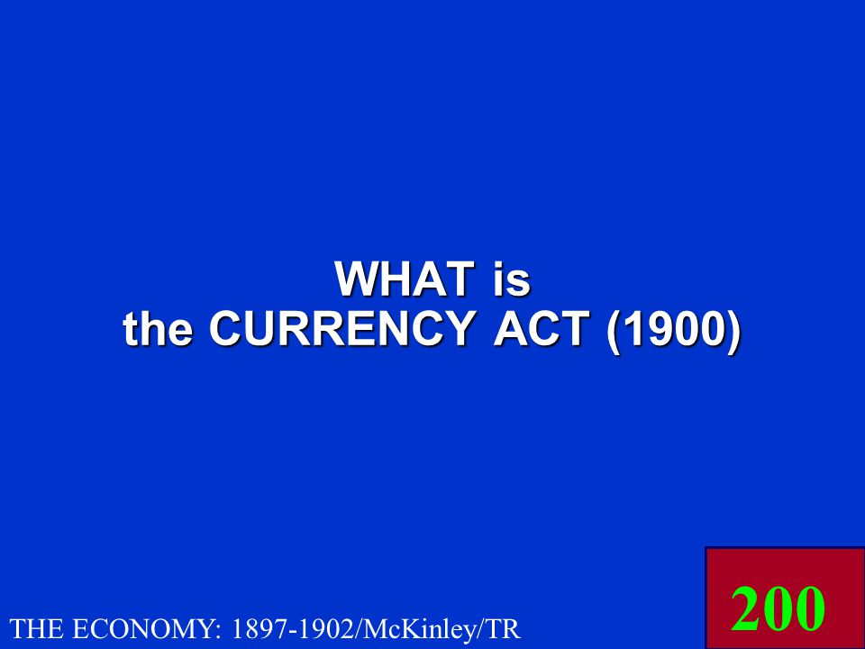 THIS act (1900) standardized the amount of gold in the dollar at 25.8 grains, 9/10s fine.