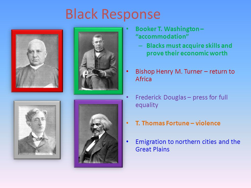 Black Response Booker T.