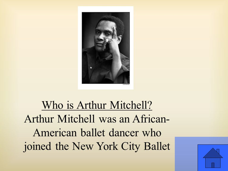 Who is Arthur Mitchell.